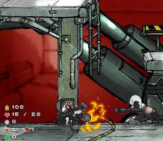 Flash-игра Madness Hydraulic