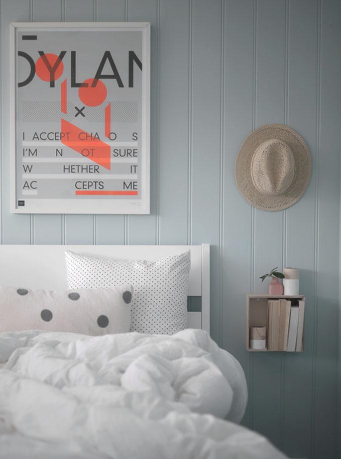 Mellaogmalla: farge på soverommet