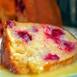 Tasty Fun Recipes - Easy Cranberry Pudding Cake