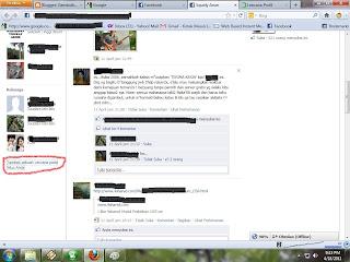 Menampilkan Lencana Facebook