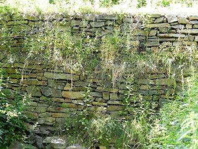 Каменная дамба на Зацепинском пруду