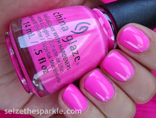 China Glaze Electric Nights Glow with the Flow