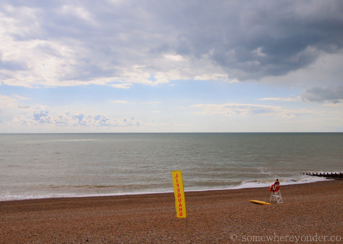 The seaside - St-Leonards-on-Sea, England