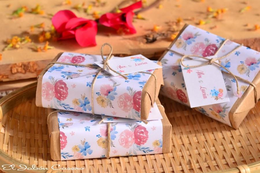 detalles artesanales para bodas jabones rusticos