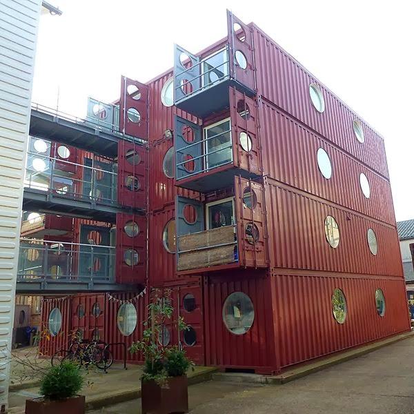 Casas contenedores la container city de londres - Casas en contenedores marinos ...