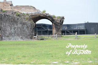fort pickens blast arch