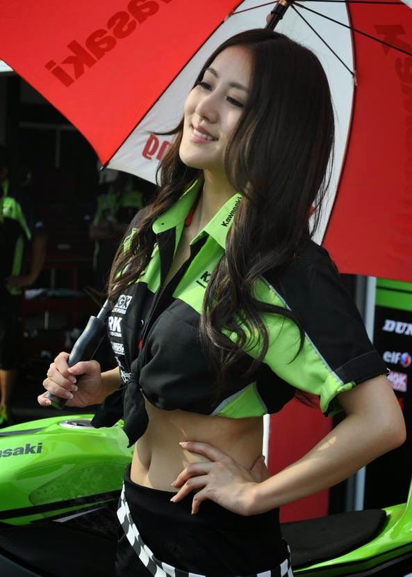 Sexy dan Menggoda Umbrella Girl ARRC 2013