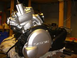 Cagiva Mito 125 engine strip down video pictorial