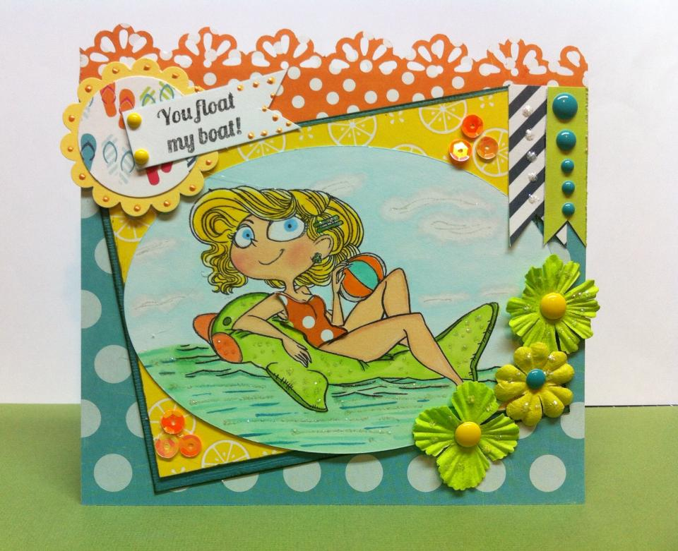 Kraftin Kimmie Stamps 2016 JUN Kard Kit Fun