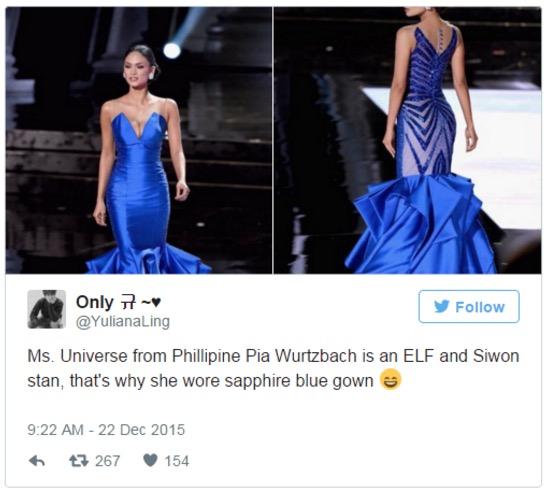 Miss Universe 2015 Isteri Siwon Choi