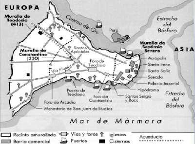 Bizancio - Constantinopla - Historia de las civilizaciones