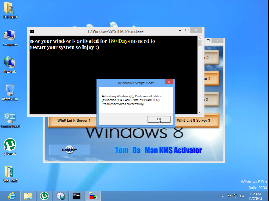 Windows 8 activator 4 11 2017  password