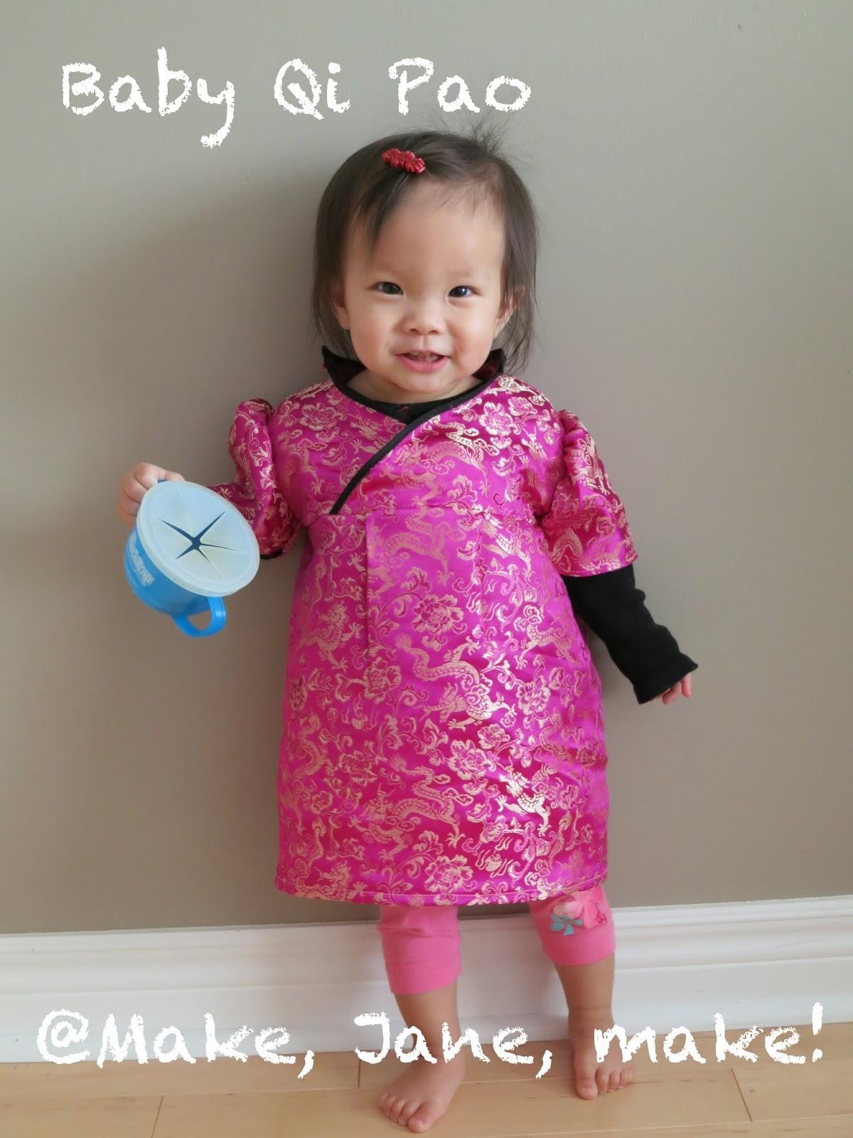 Make Jane make Baby Qipao Tutorial Part 2