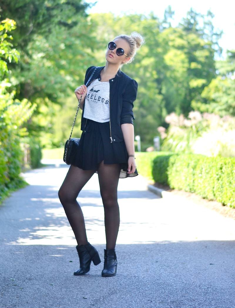 Blogger-Outfit-runde-Sonnenbrille