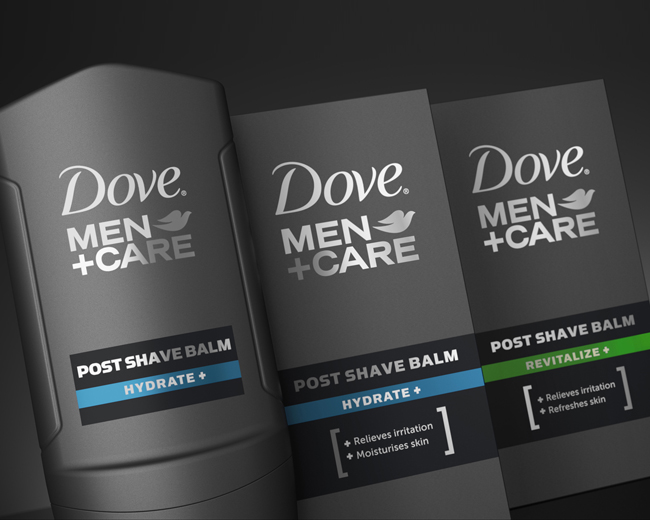 Dove Men Care Face On Packaging Of The World Creative