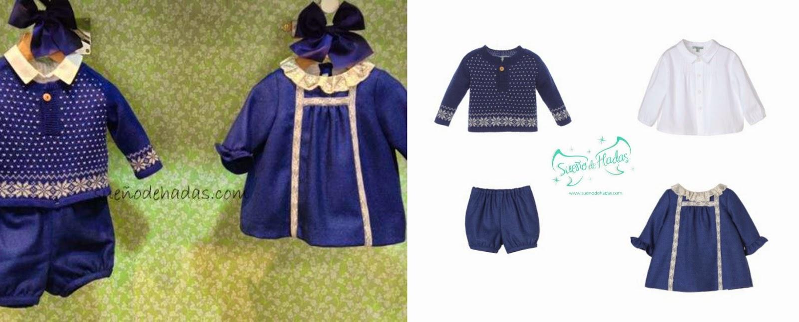 Nanos moda infantil para bebés Azul eléctrico