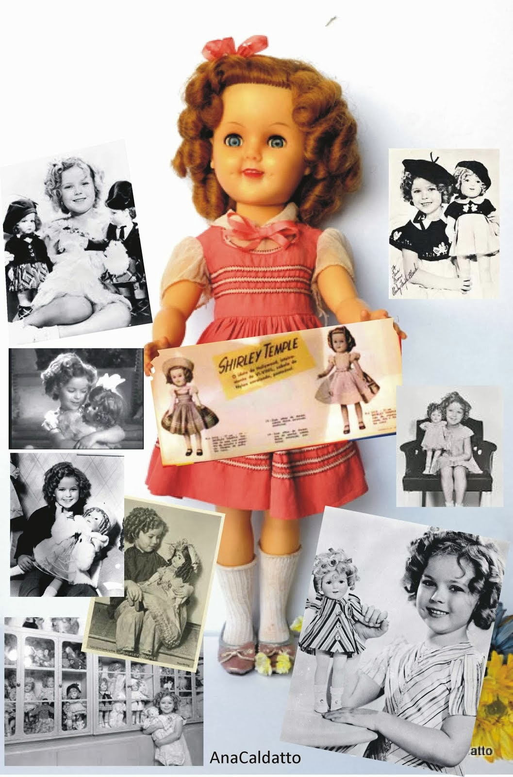 Boneca Shirley Temple