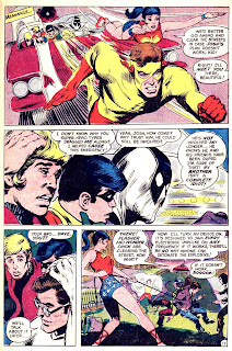 Teen Titans v1 #20 dc comic book page art by Neal Adams
