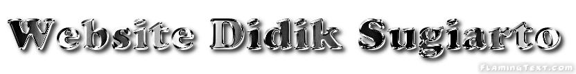 Website Didik Sugiarto