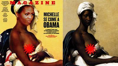 Beredar Pose Syur Michelle Obama