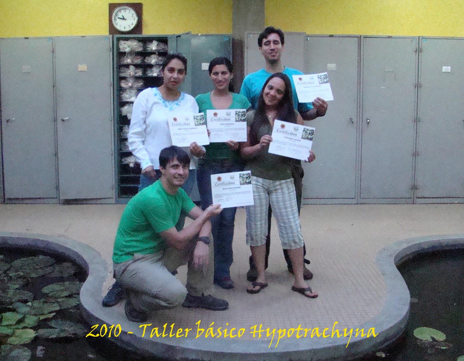 Grupo venezolano de liquen logos talleres b sicos de for Talleres jardin botanico