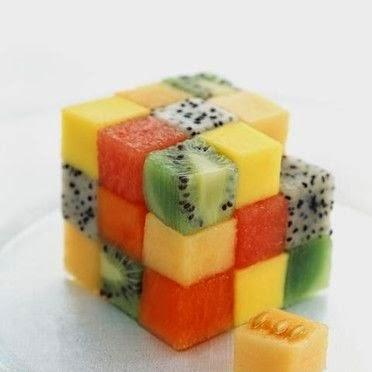 Fruits Rubik Cube