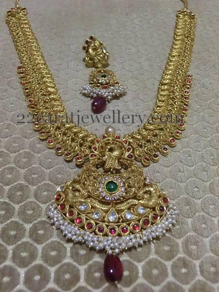 Neelkanth Jewellers Antique Set Jewellery Designs