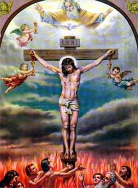 Nossa Senhora muitas vezes mostrou ao vidente Marcos Tadeu uma multidão de almas subindo ao Céu