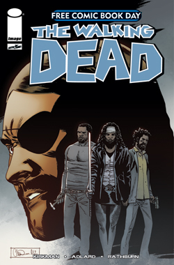 Portada de The Walking Dead para el free comic book day