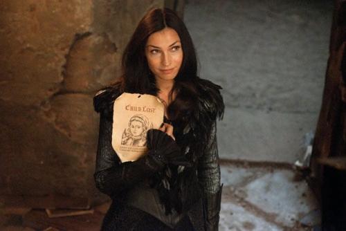 Fanke Janssem como a Bruxa Negra.