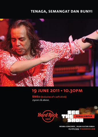 Event Ramli Sarip at Hard Rock