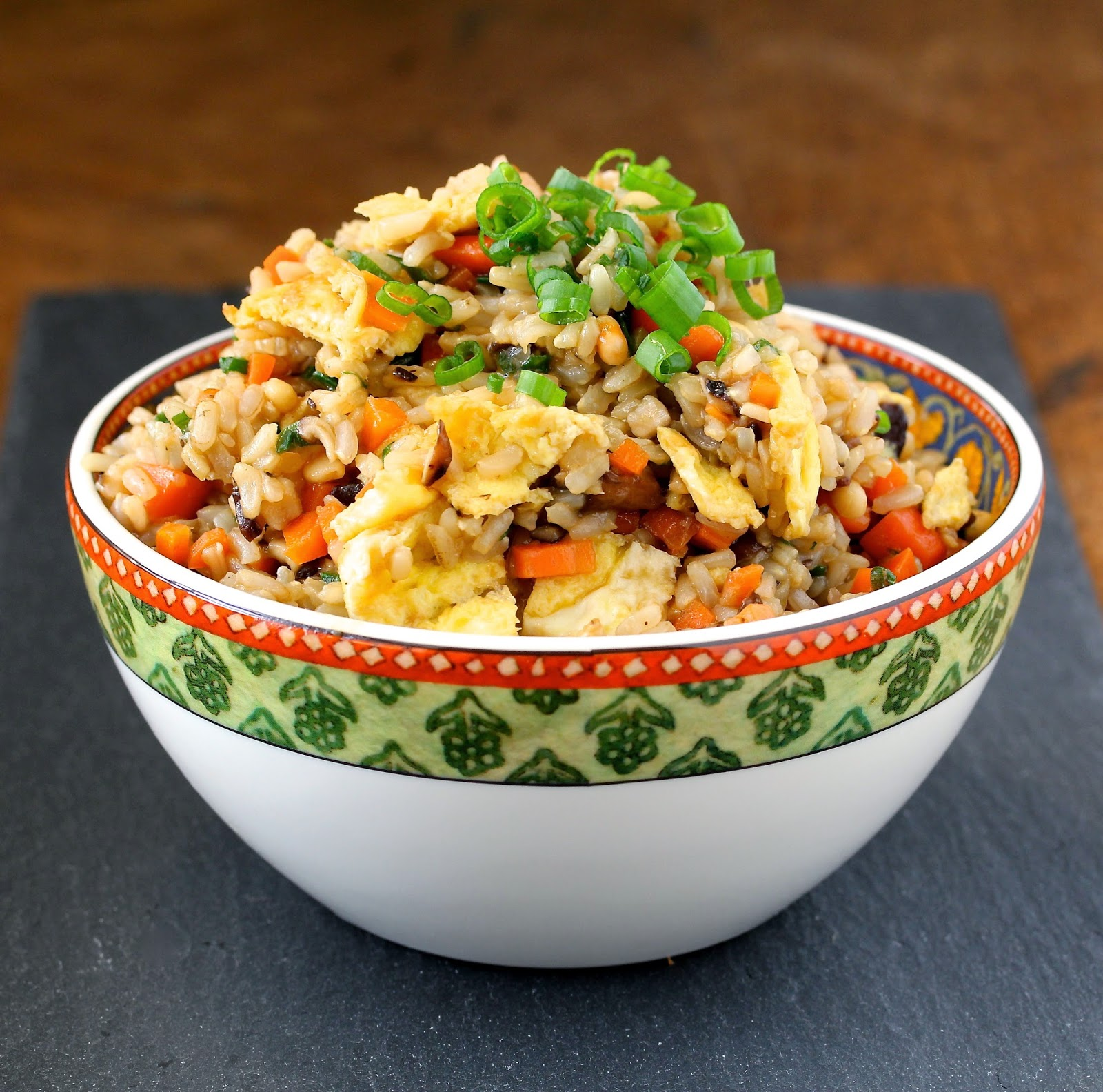 Peppery Vegetarian Rice from Karen's Kitchen Stories