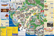 Mapa Universal Studios (universal studios hollywood general admission ticket in los angeles )