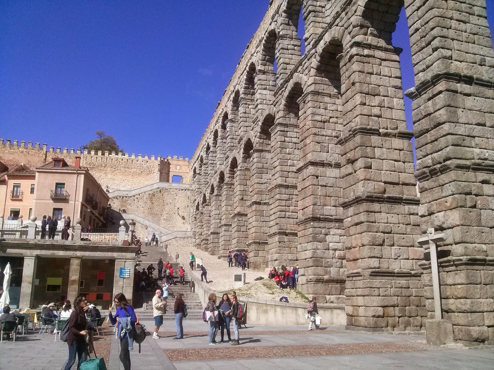 Turismo express: acueducto de segovia