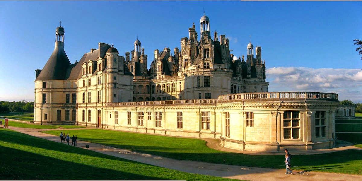 Castillo real de chambord chateau de chambord arquitectura asombrosa - Castillo de chambord ...