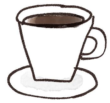コーヒーのイラスト(カフェ)