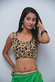Moumita  Stills in Half Saree at Ippatlo Ramudila Seethala Evaruntaarandi Babu Audio Launch ~ Celebs Next