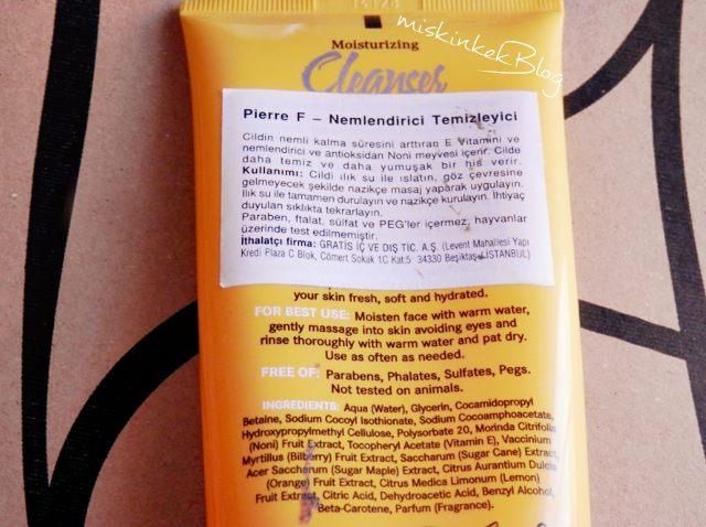 pierre-f-estheticians-formula-moisturizing-cleanser-ingredients_nemlendiricili-yuz-temizleme-jeli_kullananlar-yorumlari-icerik,
