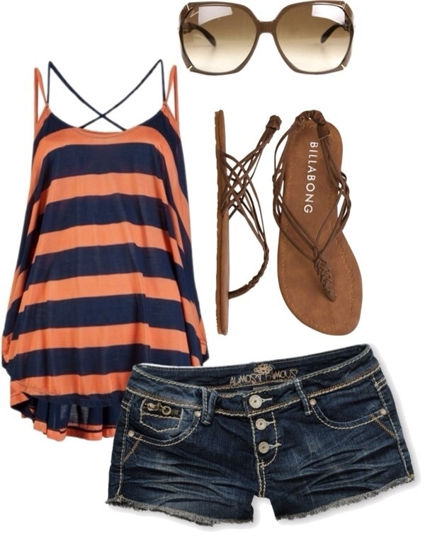 Stylish Combination For Summer