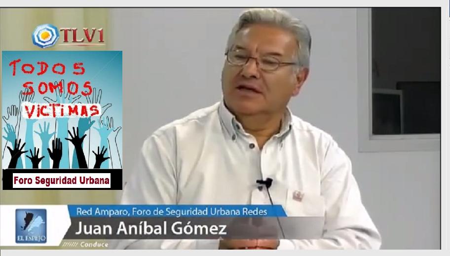 SR. JUAN ANIBAL GÓMEZ, FUNDADOR  Y PRESIDENTE DEL FORO SEGURIDAD URBANA
