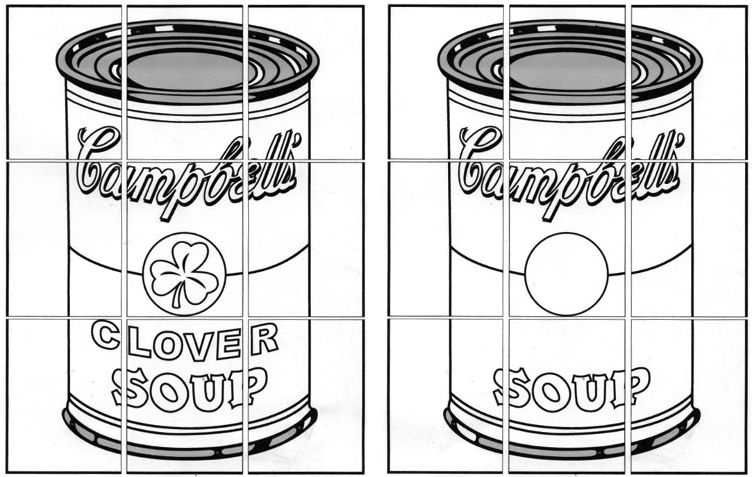 warhol soup can coloring page best photo 2017