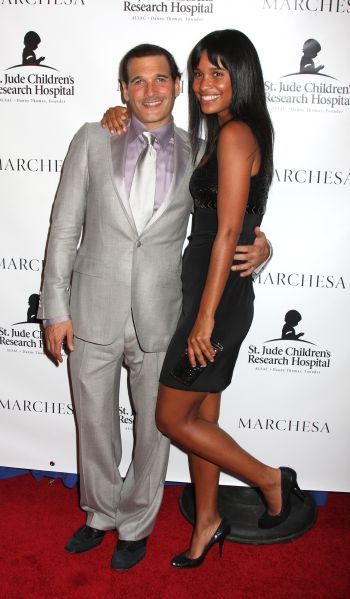 Phillip Bloch And Joy Bryant, Photo Via Fashionbombdailycom