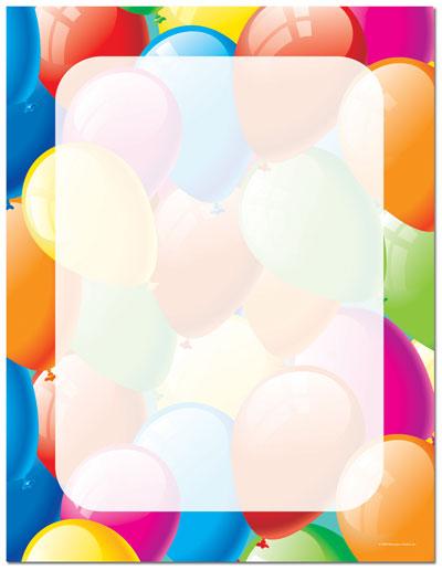 Balloon Designs Pictures: Balloon Border