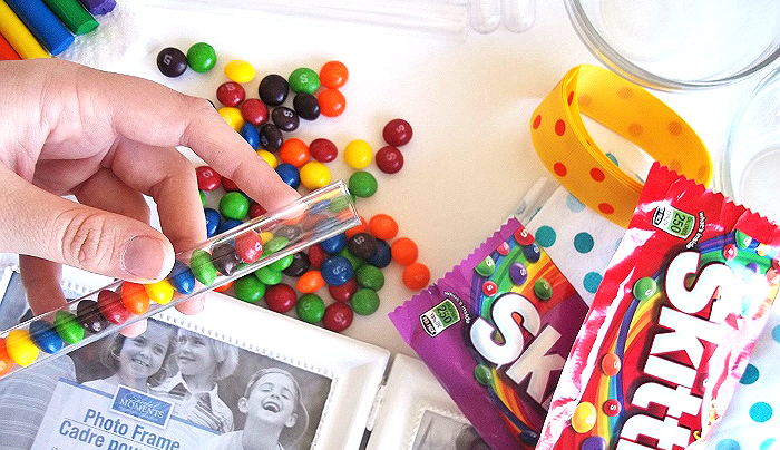 Crafting With Skittles #VIPFruitFlavors #Shop