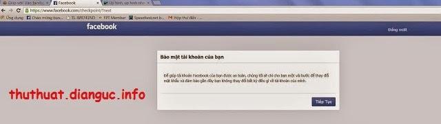 Cách lấy lại tài khoản facebook khi bị hack hoặc quên mật khẩu