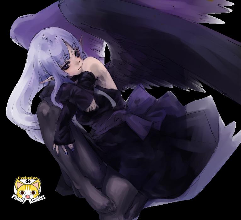 Render  Night wing sorceress +Yu-Gi-Oh!