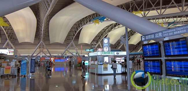 3. Bandara Internasional Kansai di Osaka, Jepang