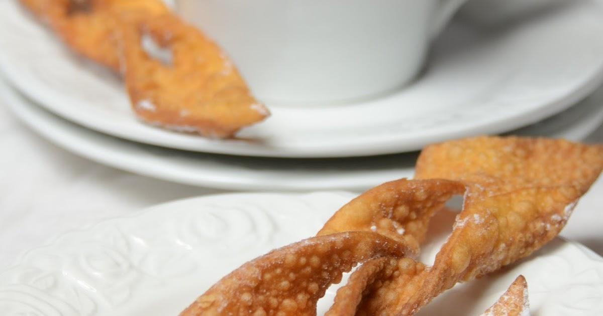 Apetyczna Babeczka Anielska Kuchnia Chrust Chrusty Faworki