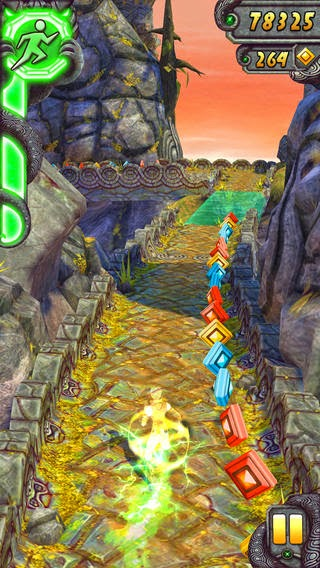 Temple Run Unlimited Gold Coins/Gems
