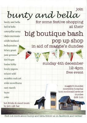 Shop Handmade: Bunty & Bella's Boutique Bash